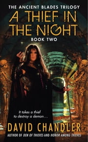 A Thief in the Night - Book Two of the Ancient Blades Trilogy ebook by David Chandler