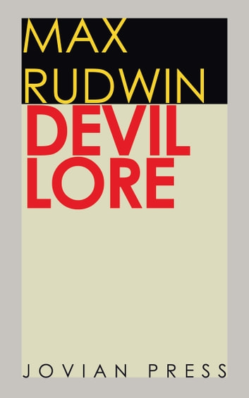 Devil Lore ebook by Max Rudwin