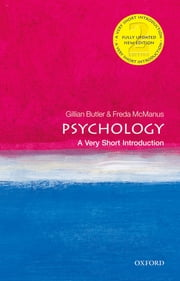 Psychology: A Very Short Introduction ebook by Freda McManus,Gillian Butler