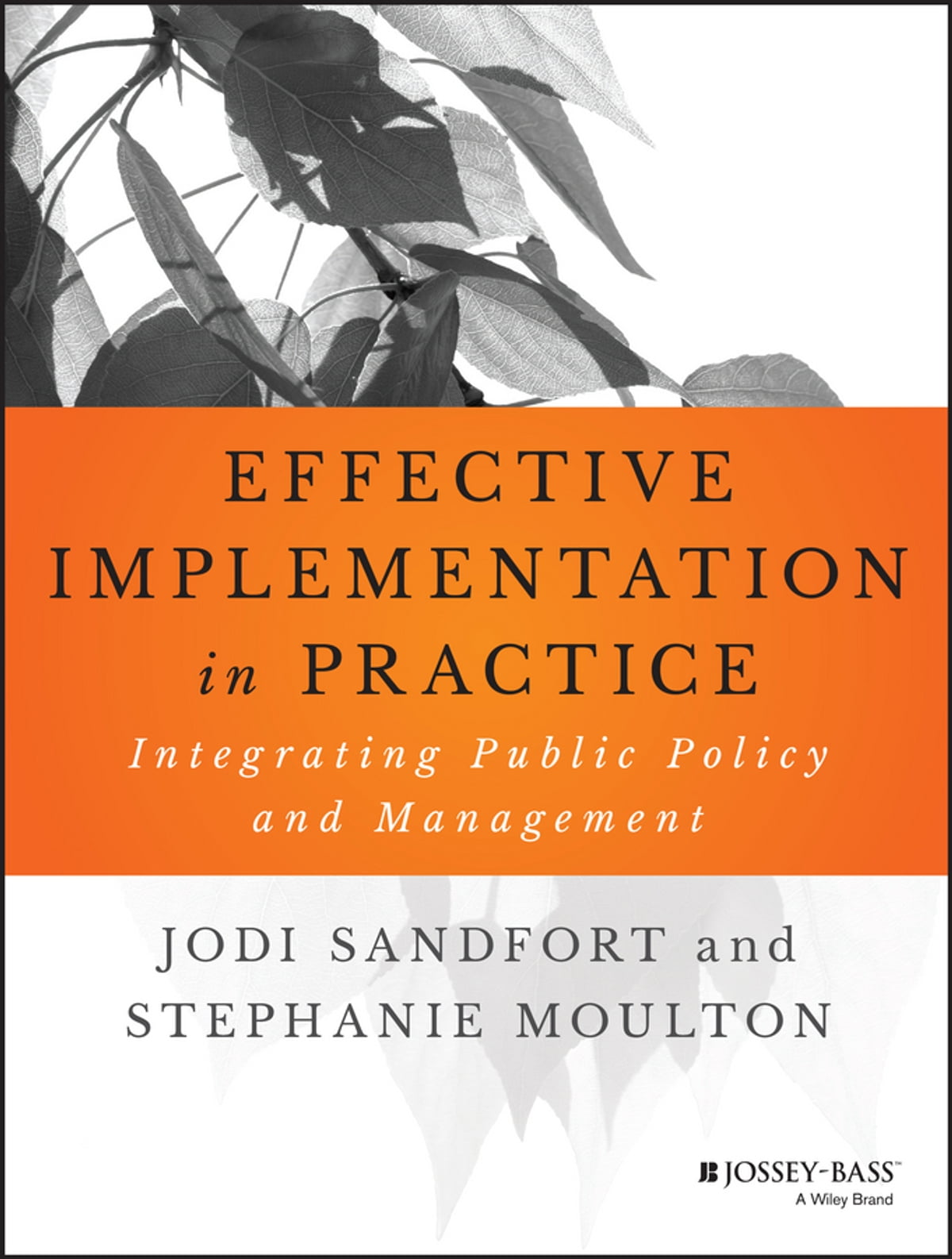 Effective Implementation In Practice Ebook By Jodi Sandfort  9781118986158   Rakuten Kobo