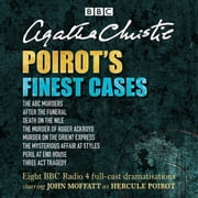 Poirot's Finest Cases - Eight full-cast BBC radio dramatisations 有聲書 by Agatha Christie