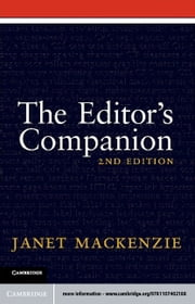 The Editor's Companion ebook by Mackenzie, Janet