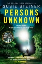 Persons Unknown (Manon Bradshaw, Book 2) ebook by