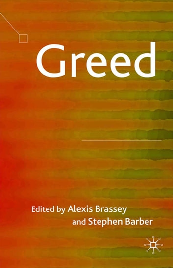 Greed ebook by