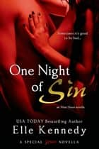 One Night of Sin ebook by Elle Kennedy