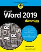 Word 2019 For Dummies ebook by
