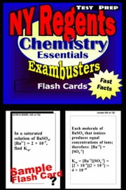 NY Regents Chemistry Test Prep Review--Exambusters Flashcards - New York Regents Exam Study Guide ebook by Regents Exambusters