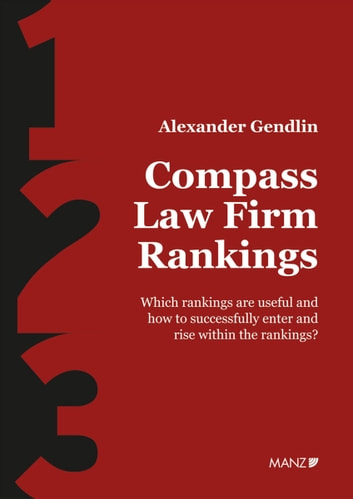Compass Law Firm Rankings Ebook By Alexander Gendlin 9783214112462