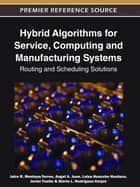 Hybrid Algorithms for Service, Computing and Manufacturing Systems - Routing and Scheduling Solutions ebook by Angel A. Juan, Javier Faulin, Jairo R. Montoya-Torres,...