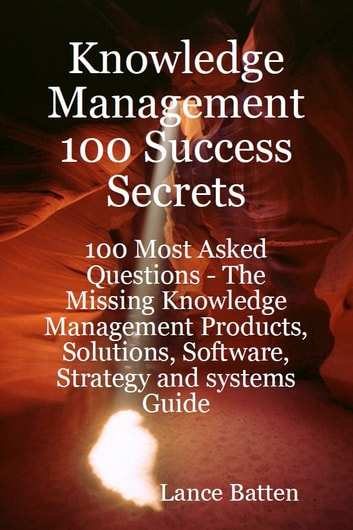 knowledge management 100 success secrets