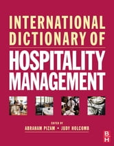 International Dictionary of Hospitality Management ebook by