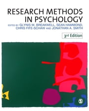 Research Methods in Psychology ebook by Professor Glynis Breakwell,Dr Sean Martin Hammond,Dr Chris Fife-Schaw,Professor Jonathan A Smith