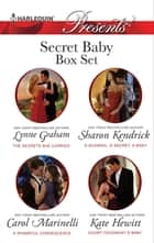 Secret Baby Bundle - 4 Book Box Set ebook by Lynne Graham, Sharon Kendrick, Carol Marinelli,...