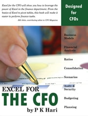 Excel for the CFO ebook by P. K. Hari