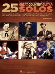 25 Great Country Guitar Solos (Music Instruction) - Transcriptions * Lessons * Bios * Photos ebook by Dave Rubin