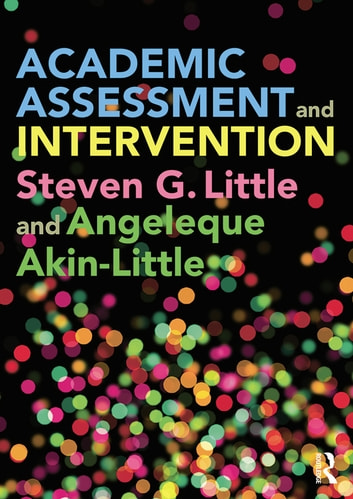 Academic Assessment and Intervention ebook by