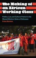 The Making of an African Working Class - Politics, Law, and Cultural Protest in the Manual Workers' Union of Botswana ebook by Pnina Werbner