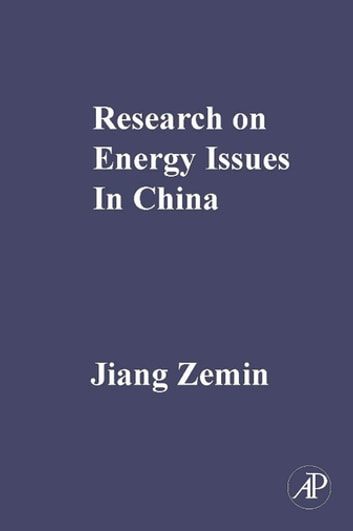 Research on Energy Issues in China ebook by Jiang Zemin