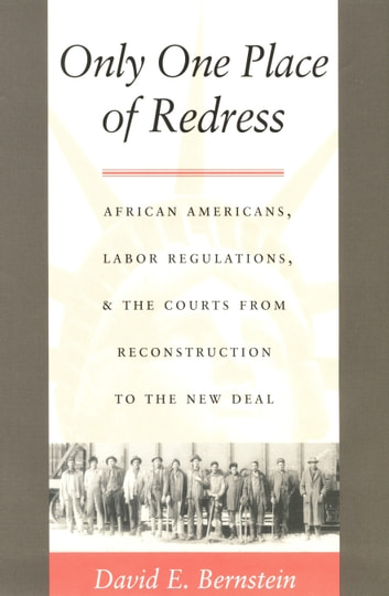Only One Place of Redress - African Americans, Labor Regulations, and the Courts from Reconstruction to the New Deal ebook by David E. Bernstein,Neal Devins,Mark A. Graber