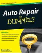 Auto Repair For Dummies ebook by Deanna Sclar