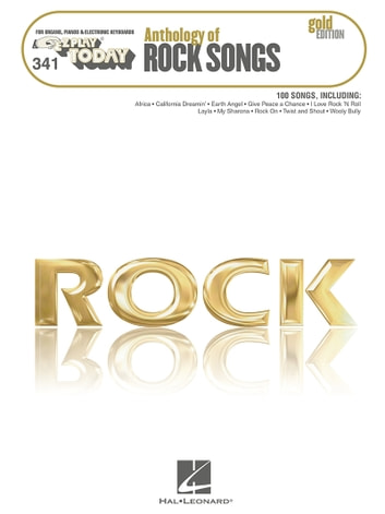 Anthology of Rock Songs - Gold Edition (Songbook) - E-Z Play Today #341 ebook by Hal Leonard Corp.