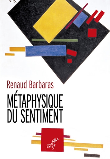 Métaphysique du sentiment eBook by Renaud Barbaras