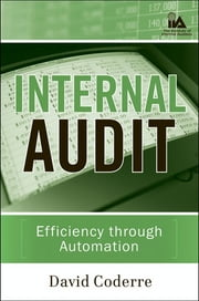 Internal Audit - Efficiency Through Automation ebook by David Coderre