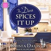 The Diva Spices It Up audiobook by Krista Davis