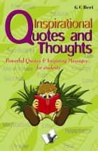 Inspirational Quotes & Thoughts ebook by Prof. G. C. Beri
