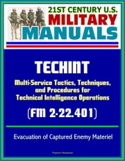 21st Century U.S. Military Manuals: TECHINT - Multi-Service Tactics, Techniques, and Procedures for Technical Intelligence Operations (FM 2-22.401) Evacuation of Captured Enemy Materiel ebook by Progressive Management