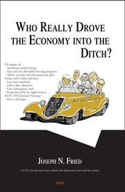 Who Really Drove the Economy Into the Ditch? ebook by Joseph N. Fried