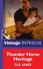 Thunder Horse Heritage (Mills & Boon Intrigue) ebook by Elle James