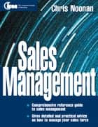 Sales Management ebook by Chris Noonan