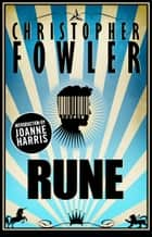 Rune ebook by Christopher Fowler