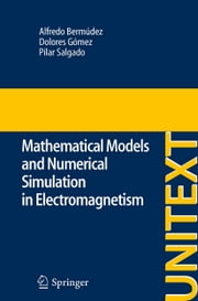 Mathematical Models and Numerical Simulation in Electromagnetism ebook by Alfredo Bermúdez de Castro,Dolores Gómez,Pilar Salgado