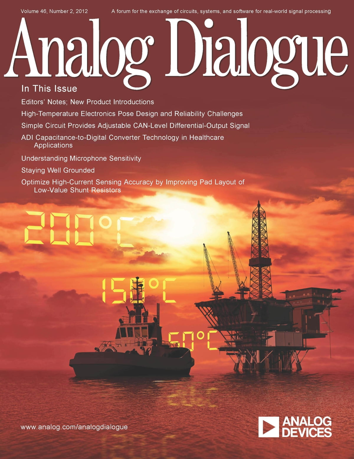 Analog Dialogue Volume 46 Number 2 Ebook By Forum Circuits Current Sensing Circuit 9780916550363 Rakuten Kobo