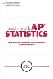 Master Math: AP Statistics ebook by Gerry McAfee