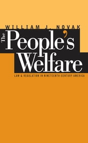The People's Welfare - Law and Regulation in Nineteenth-Century America ebook by William J. Novak