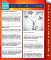 Business Research (Speedy Study Guides) ebook by Speedy Publishing
