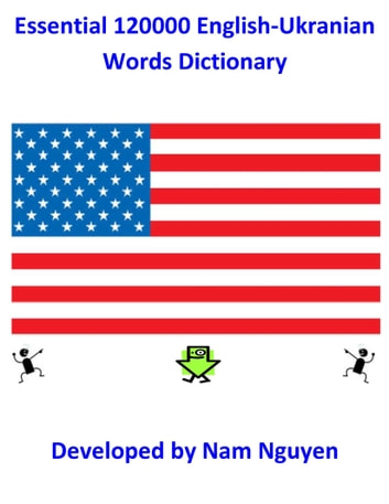 Essential 120000 English-Ukranian Words Dictionary ebook by Nam Nguyen