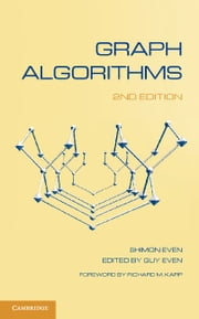 Graph Algorithms ebook by Even, Shimon