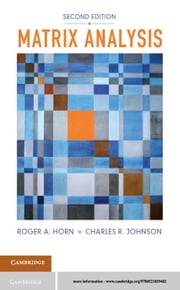 Matrix Analysis ebook by Roger A. Horn,Charles R. Johnson