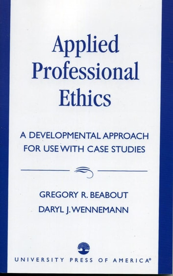 study professional and ethics case studies Ethics: to tell or not to tell-a case study by lee j zook, phd some years ago, prior to teaching in undergraduate social work, i was working with families and children in an outpatient psychiatric setting, children' agency.