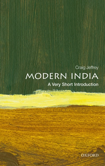 Modern India: A Very Short Introduction ebook by Craig Jeffrey