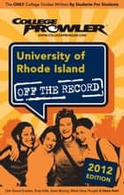 University of Rhode Island 2012 ebook by Anthony aRusso