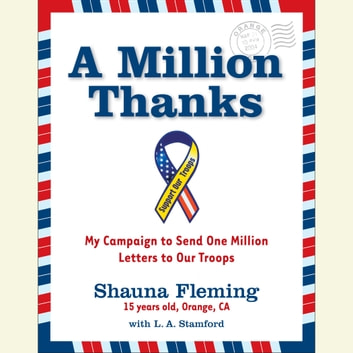 A Million Thanks audiobook by Shauna Fleming