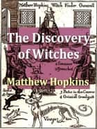 Witches in Europe ebook by Matthew Hopkins,Margaret Alice Murray