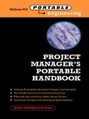 Project Manager's Portable Handbook ebook by Cleland, David