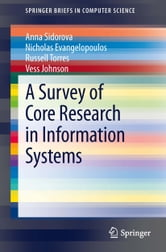 A Survey of Core Research in Information Systems ebook by Anna Sidorova,Nicholas Evangelopoulos,Russell Torres,Johnson Vess