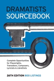 Dramatists Sourcebook ebook by Theatre Communications Group